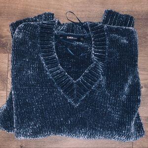 Super soft oversized sweater dress ZARA